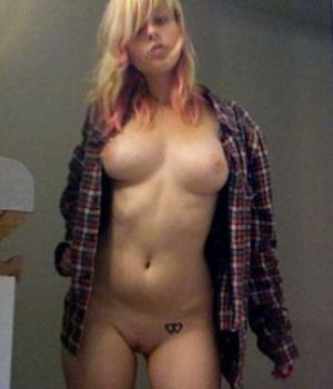 Blonde Punk Teen Busty Totally Nude And Wild