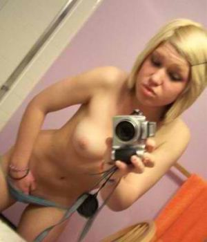 Horny Blonde Alternative Scenester Playing Her Pussy