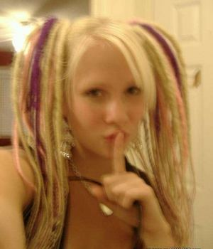 Naughty Blonde Emo Private Pics